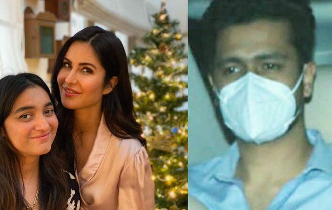 Katrina Kaif and Vicky Kaushal at Christmas Bash