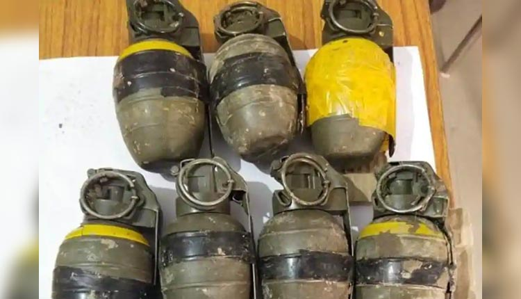 BSF, Punjab Police Shoot Pakistan's Drone; 11 Pak-Made Grenades Seized