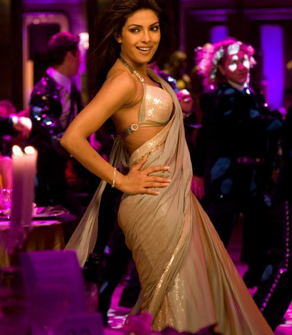Priyanka Chopra's Desi Girl Saree