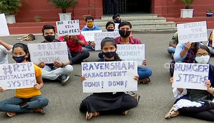 Ravenshaw protest