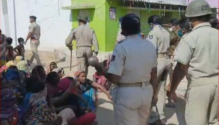 Police-Villagers Face Off At Bargarh Village As Tension Erupts Over An Arrest