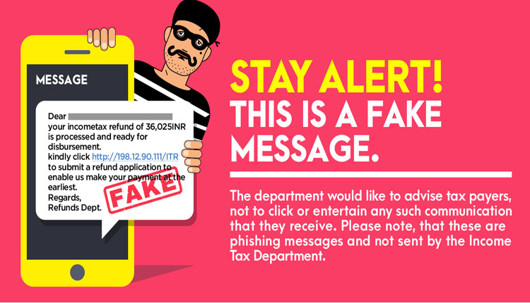 Alert: Income Tax Departments Warns Users On Fake Links On Refunds