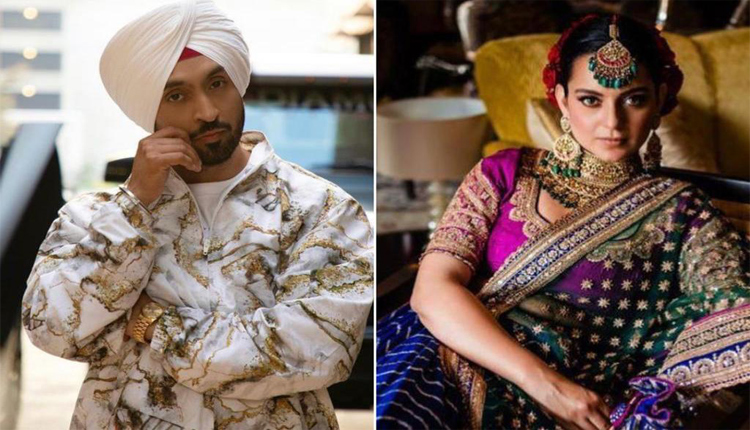 Diljit Dosanjh And Kangana Ranaut Get Into Virtual War Of Words, Latter Calls Him 'Karan Ka Paltu'