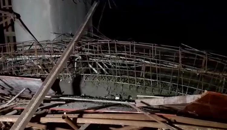 Worker Dies, 6 Injured After Concrete Slab Of Under Construction Biju Setu Collapses
