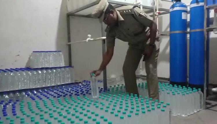 Odisha: Fake Water Bottling Unit Sealed In Berhampur