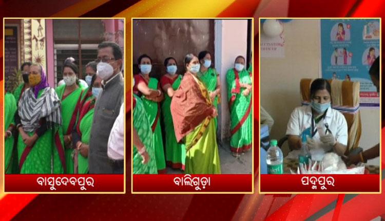 Odisha: Health Workers Wear Black Badges, Say No To Covid-19 Vaccine
