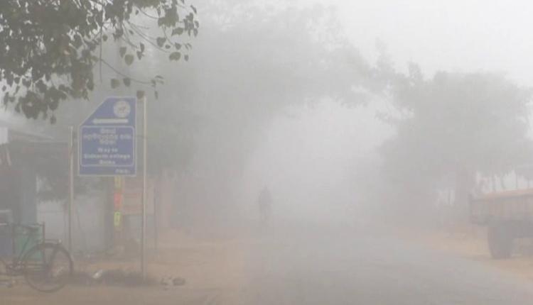 dense fog witnessed in Mohana today morning