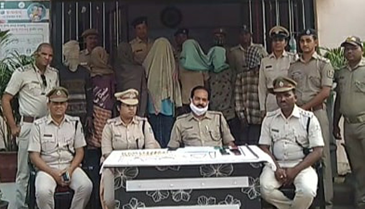 7 Robbers Arrested In Multiple Theft Cases In Odisha's Ganjam