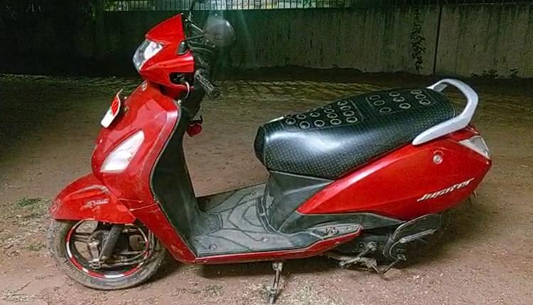 Minor Two Wheeler Rider