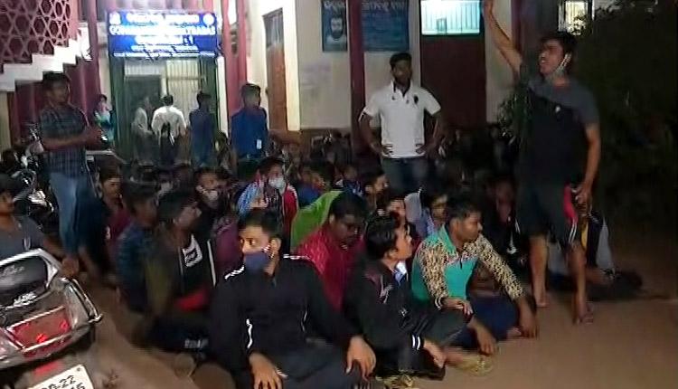 Group Clash Erupts Inside Utkal University Hostel In Bhubaneswar