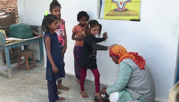 School Teacher Who Begins Day Worshipping Girl Students