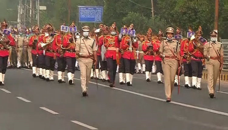Full dress rehearsal ahead of Republic Day held in Bhubaneswar