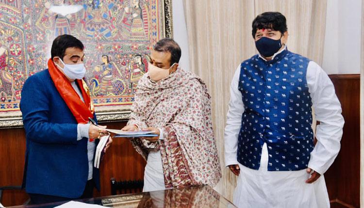 Gadkari Assures To Expedite Sanction For Sidhamahavir Flyover In Puri