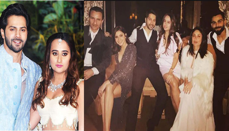 #Watch Varun Dhawan Weds Natasha Dalal: Bollywood Celebs Flock In At Alibaug