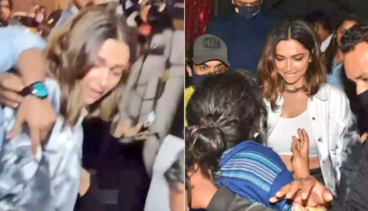 Deepika Padukone Mobbed Outside Restaurant | WATCH Video - OdishaTV