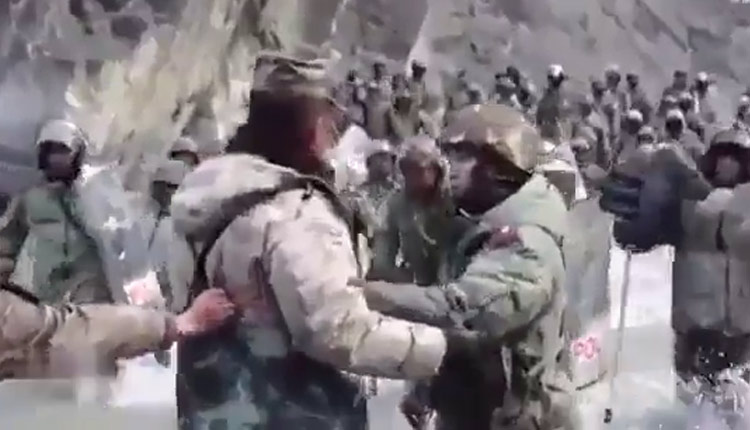 China's Galwan Video Showcased Indian Army Captain's Bravery | WATCH