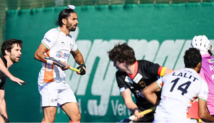 India Make Impressive Return To International Hockey, Beat Germany 6-1