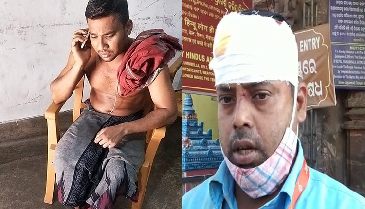 Puri: Srimandir Servitor Detained For Attacking Another Servitor