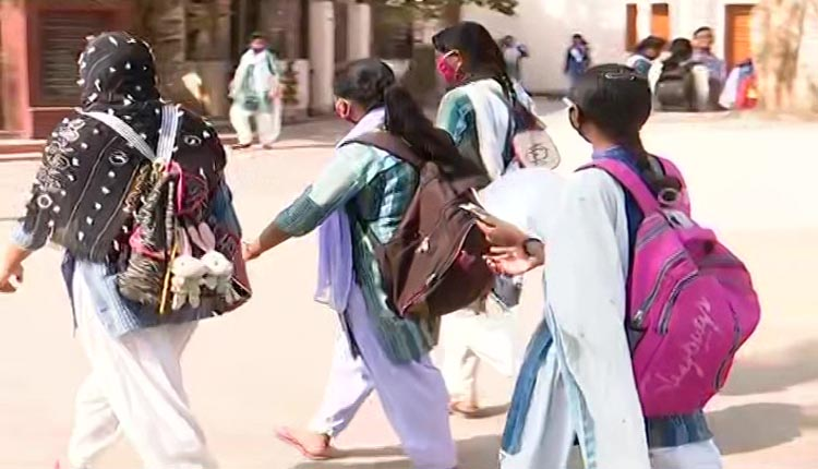 Students On Their Way