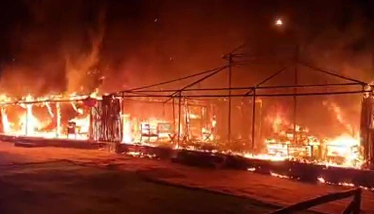 Major Fire At Satkosia Eco Retreat Festival In Odisha, Lucky Escape For TouristsMajor Fire At Satkosia Eco Retreat Festival In Odisha, Lucky Escape For Tourists