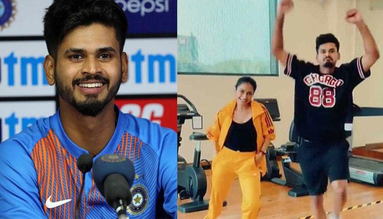 Cricketer Shreyas Iyer Dancing With Yuzvendra Chahal's Wife Dhanashree Makes Jaws Drop #Watch
