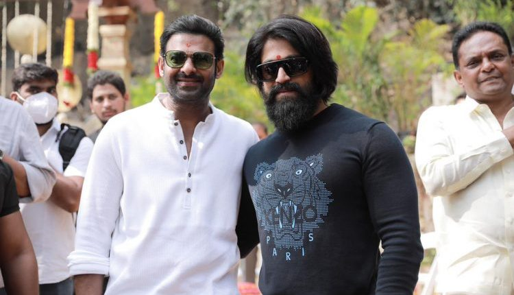 Prabhas and KGF Fame Yash Update
