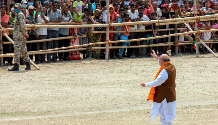 Amit Shah rally in West Bengal