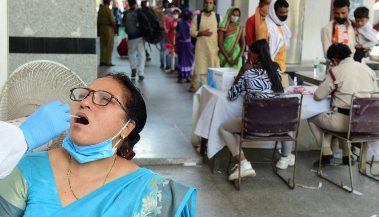 COVID19 Surge: Delhi Registers New Record With Over 10K Cases In A Single Day