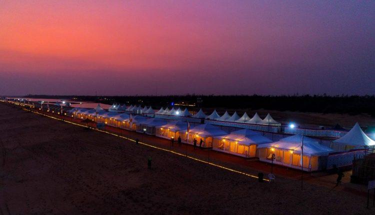 Eco Retreat carnival along the Puri-Konark marine drive, Odisha