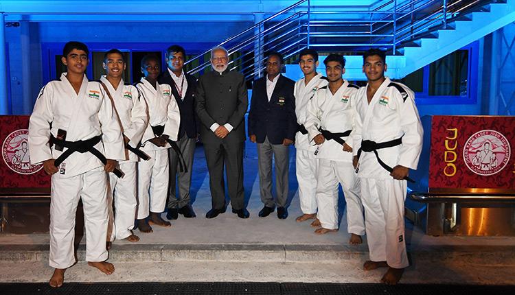 Indian Judo Team