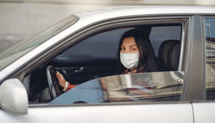 Mask-While-Driving