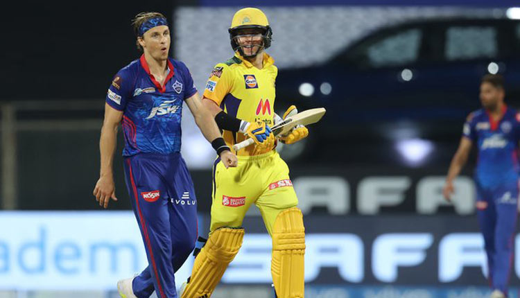 IPL 2021: Curran's Late Heroics Take CSK To 188/7 Against DC