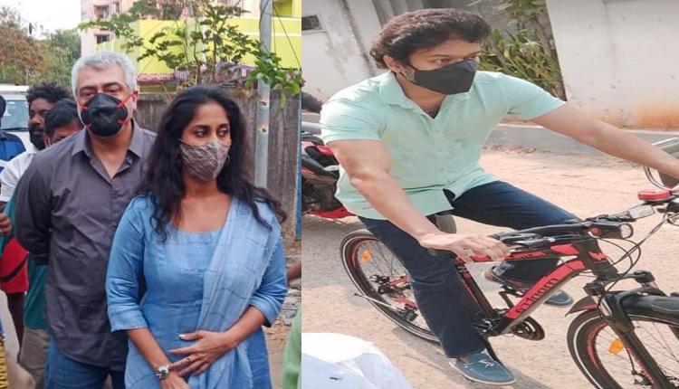 High Drama Triggers Fan Wars: Ajith Snatches Unmasked Fan's Phone, Vijay Cycles To Cast His Vote