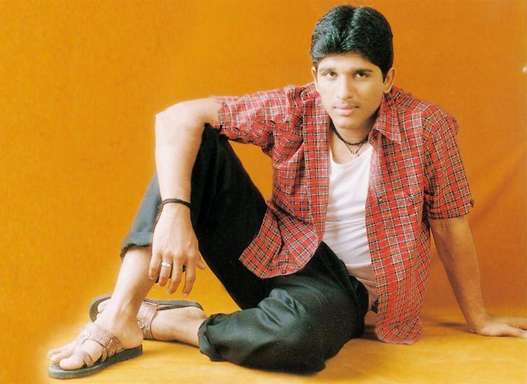 Allu Arjun During His Debut Days