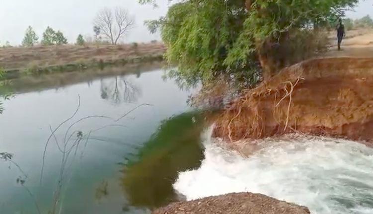 30-ft Breach In Rengali Dam In Dhenkanal